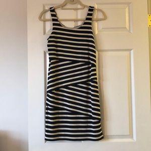 Loft layered striped dress